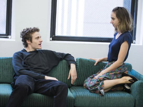 Ben Rosenfield and Zoe Kazan Photo